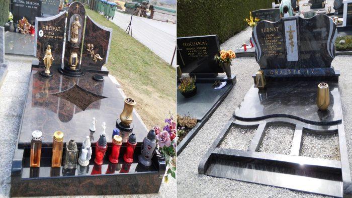 Dvojni nagrobni spomenik  <53 54>