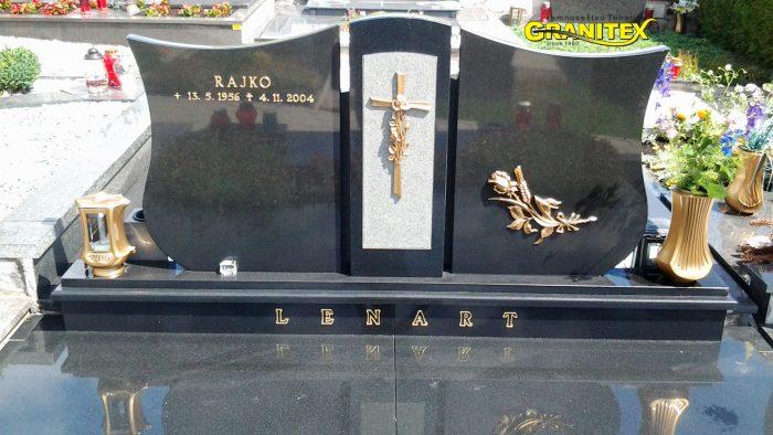 Dvojni nagrobni spomenik 44